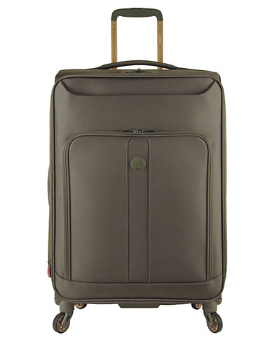 Delsey Horizon 25-Inch Spinner Suitcase-KHAKI-25