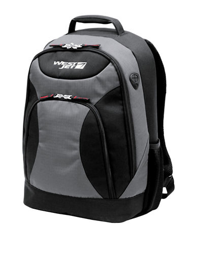 Westjet X-Terrain 17-Inch Laptop Backpack-GREY-17
