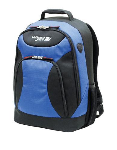 Westjet X-Terrain 17-Inch Laptop Backpack-BLUE-17