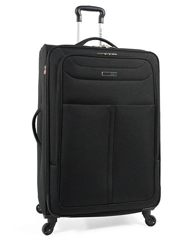 Westjet Apollo 2 28 Inch Suitcase-BLACK-28