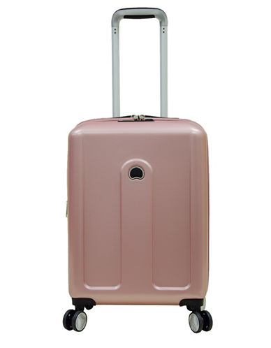 Delsey Provence 18-Inch Spinner Suitcase-PINK-One Size