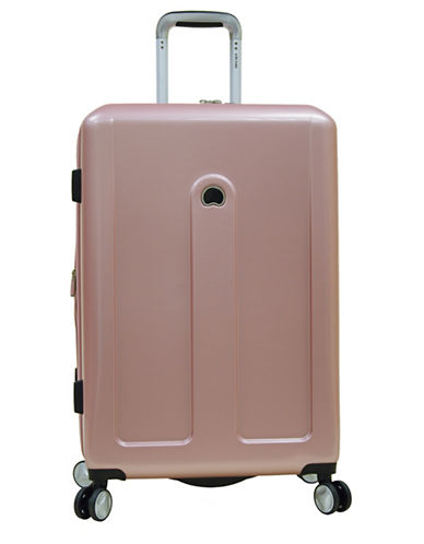 Delsey Provence 24-Inch Spinner Suitcase-PINK-24