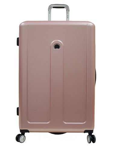 Delsey Provence 28-Inch Spinner Suitcase-PINK-28