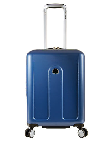 Delsey Provence 18-Inch Spinner Trolley Bag-BLUE-One Size