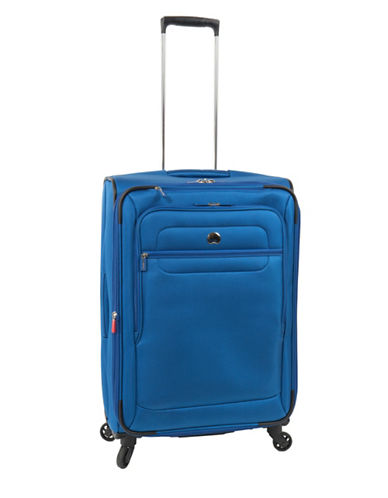 Delsey Helium Sky 2.0 25-Inch Expandable Spinner Suitcase-BLUE-25