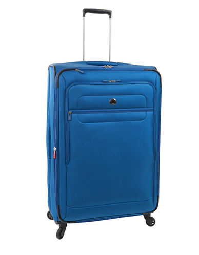 Delsey Helium Sky 2.0 29-Inch Expandable Spinner Suitcase-BLUE-29