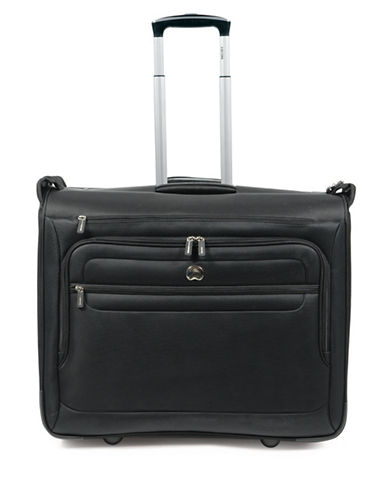 Delsey 42-Inch Helium Sky 2.0 Trolley Garment Bag-BLACK-42