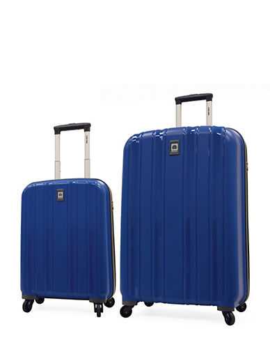 Delsey Cervin Collection Two-Piece Luggage Set-BLUE-2 Piece