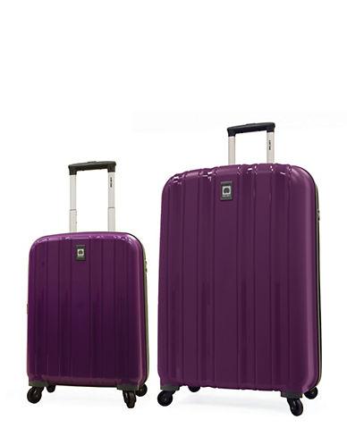 Delsey Cervin Collection Two-Piece Luggage Set-PURPLE-2 Piece