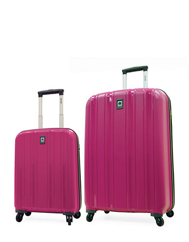 Delsey Cervin Collection Two-Piece Luggage Set-PINK-2 Piece