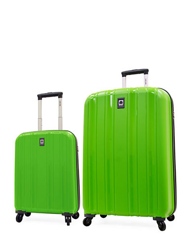 Delsey Cervin Collection Two-Piece Luggage Set-GREEN-2 Piece