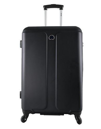 Delsey Promenade 24-Inch Expandable Spinner-BLACK-24