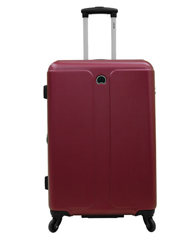 Delsey Promenade 24-Inch Expandable Spinner-RED-24