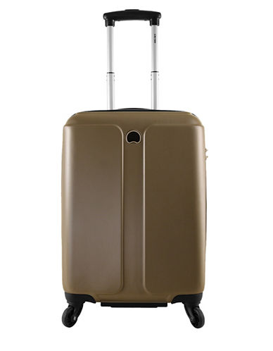 Delsey Promenade 18-Inch Spinner Luggage-BROWN-18