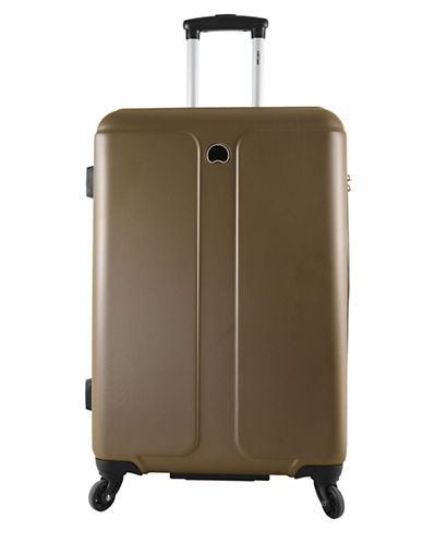 Delsey Promenade 24-Inch Expandable Spinner-BROWN-24
