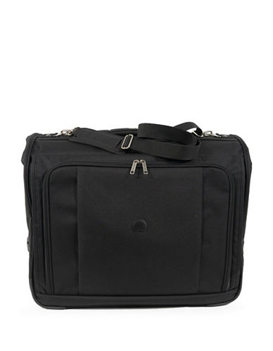 Delsey 45-Inch Deluxe Garment Bag-BLACK-One Size