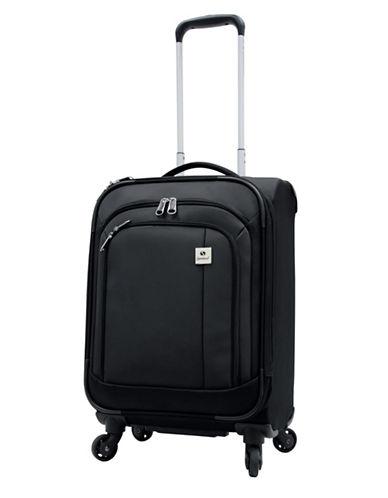 Samboro Samboro 19 Inch Feather Lite Spinner Suitcase-BLACK-19