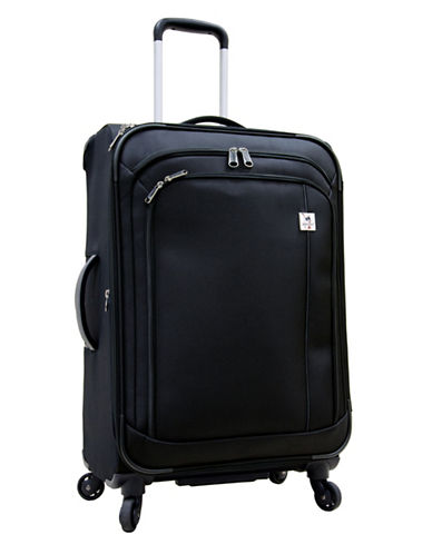 Samboro Samboro 24 Inch Feather Lite Spinner Suitcase-BLACK-24