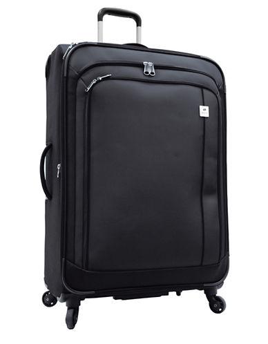Samboro Samboro 28 Inch Feather Lite Spinner Suitcase-BLACK-28