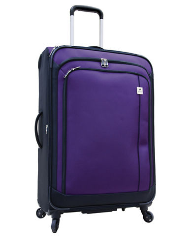 Samboro Samboro 24 Inch Feather Lite Spinner Suitcase-PURPLE-24