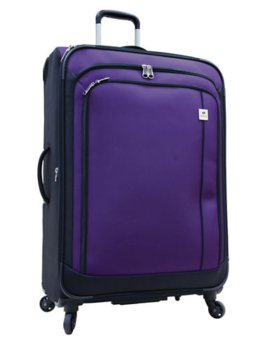 Samboro Samboro 28 Inch Feather Lite Spinner Suitcase-PURPLE-28