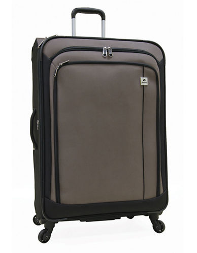 Samboro Samboro 28 Inch Feather Lite Spinner Suitcase-TAUPE-28