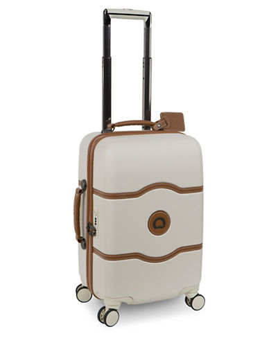 Delsey Chatelet Plus 19-Inch Carry-On Spinner Luggage-CHAMPAGNE-One Size
