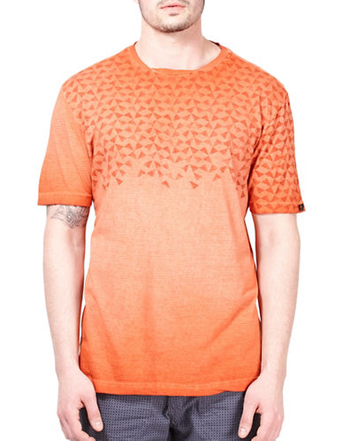 Point Zero Graphic Ombre T-Shirt-RED-Large 89166868_RED_Large