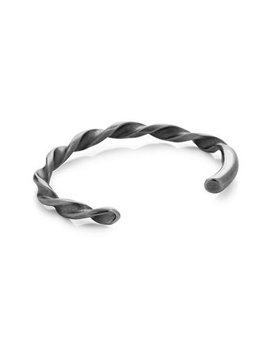 Vitaly Borr Twisted Cuff Bracelet-STEEL-8.5