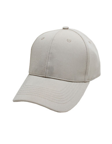 Hudson North Mini Ottoman Ball Cap-WHITE-One Size