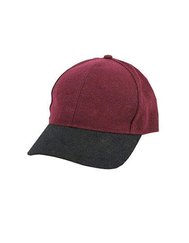 Fits Two-Tone Baseball Cap-RED-8-16