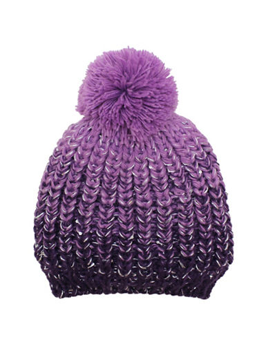 Fits Ombre Knit Tuque-PURPLE-7-16