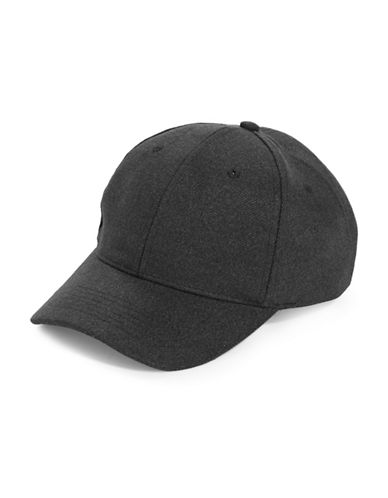 1670 Melton Sports Cap-CHARCOAL-One Size