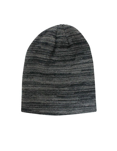 1670 Space Dye Slouchy Toque-BLACK-One Size