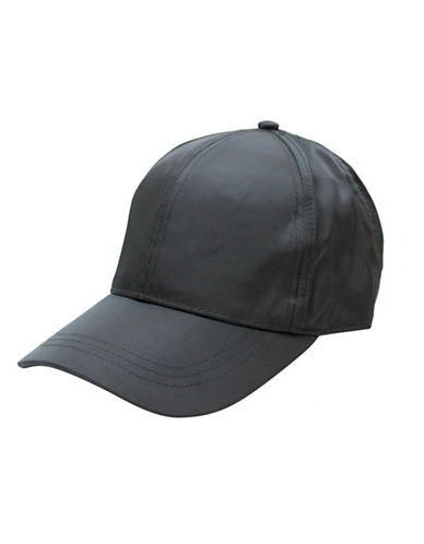 1670 Twill Baseball Cap-BLACK-One Size