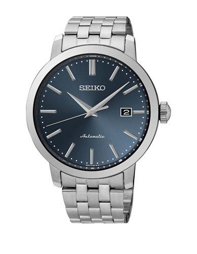 Seiko Quartz Bracelet Dress Watch-SILVER-One Size