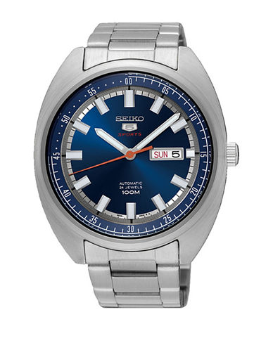 Seiko SRPB15 Stainless Steel Automatic Watch-SILVER-One Size