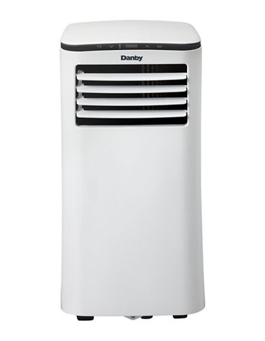 Danby 6,000 BTU Portable Air Conditioner-WHITE-One Size
