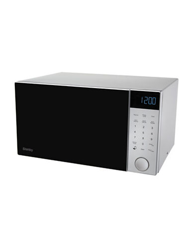 Danby 1.1 cu ft Nouveau Wave Microwave-STEEL-One Size