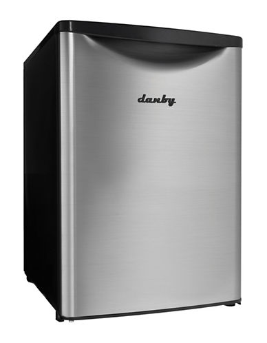Danby 2.6 cu ft Contemporary Classic Compact Fridge-STEEL-One Size