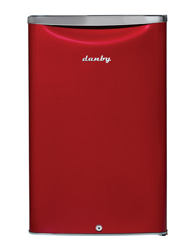 Danby 4.4 cu ft Contemporary Classic Compact Fridge-RED-One Size