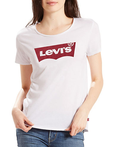 Levi'S Graphic Perfect T-Shirt-WHITE-Small 89040057_WHITE_Small