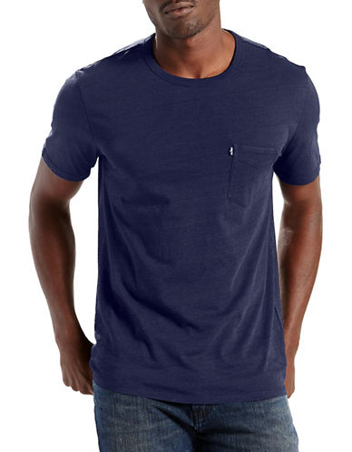 Levi'S Short Sleeve Sunset Pocket Tee-BLUE-Small 89222932_BLUE_Small