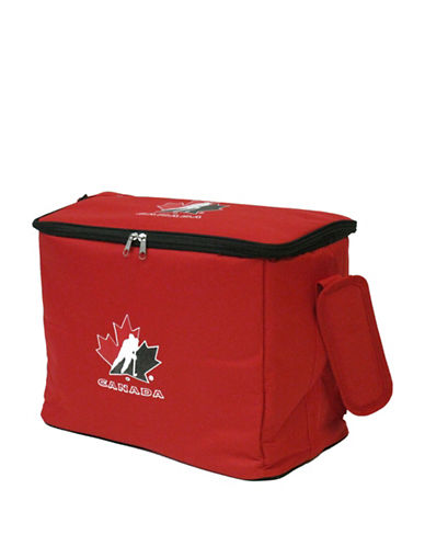 Hockey Canada 30-Can Cooler Bag-RED-One Size