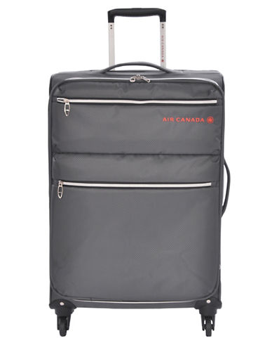 Image of Air Canada 26 Inch Diamond Lite Suitcase-CHARCOAL-24