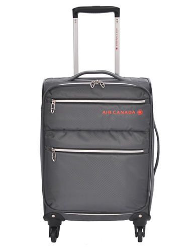 Air Canada 21 Inch Diamond Lite Suitcase-CHARCOAL-20