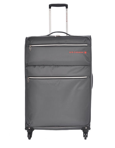 Air Canada 28-Inch Diamond Lite Suitcase-CHARCOAL-28