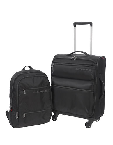Air Canada Starlight Two-Piece Spinner Set-BLACK-2 Piece