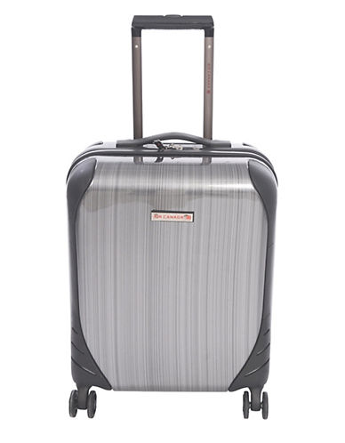Air Canada Aurevoir 28-Inch Double Four Wheels Suitcase-CHARCOAL-28