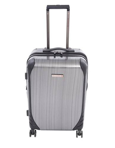 Air Canada Aurevoir 24-Inch Double Four Wheels Suitcase-CHARCOAL-24
